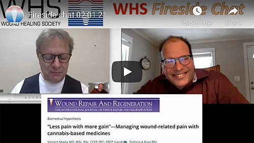 Less Pain with More gain - Managing Wound-Related Pain with Cannabis-Based Medicines
